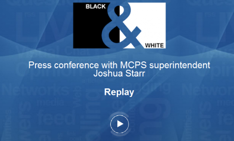 Live blog: press conference with MCPS superintendent Joshua Starr