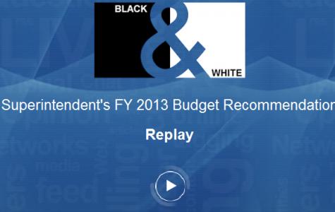 Live blog: Superintendent's FY 2013 budget recommendation