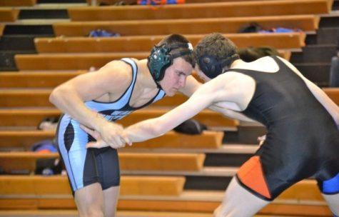 Wrestling defeats Watkins Mill, 54-17