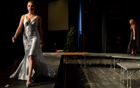 Fashion show dazzles with Aurora Borealis-theme