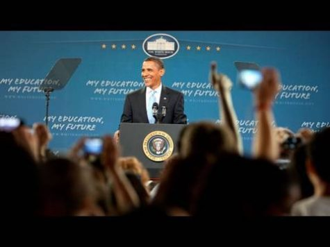 Obama speech remains unheard by most students