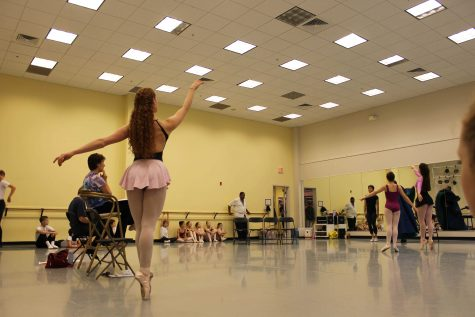 Behind the scenes of the Nutcracker