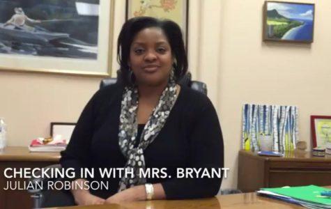 Checking in with interim principal Karen Bryant