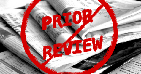 Prior review has no place on Wilson High School's newspaper
