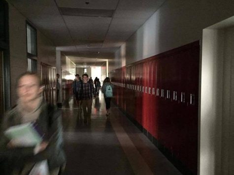 Power outage disrupts morning classes