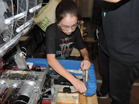 Girls power through robotics tournament Homecoming Day