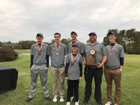 Golf wins county tournament for first time, finishes second at States