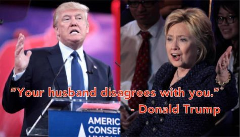 I'm with her, not her husband
