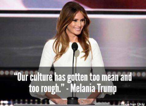The hypocrisy of Melania Trump