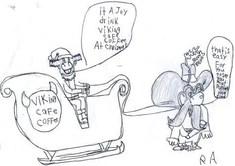 Christmas Sled Cartoon