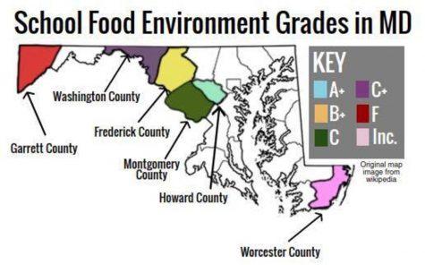 MCPS scores C on school food health evaluation