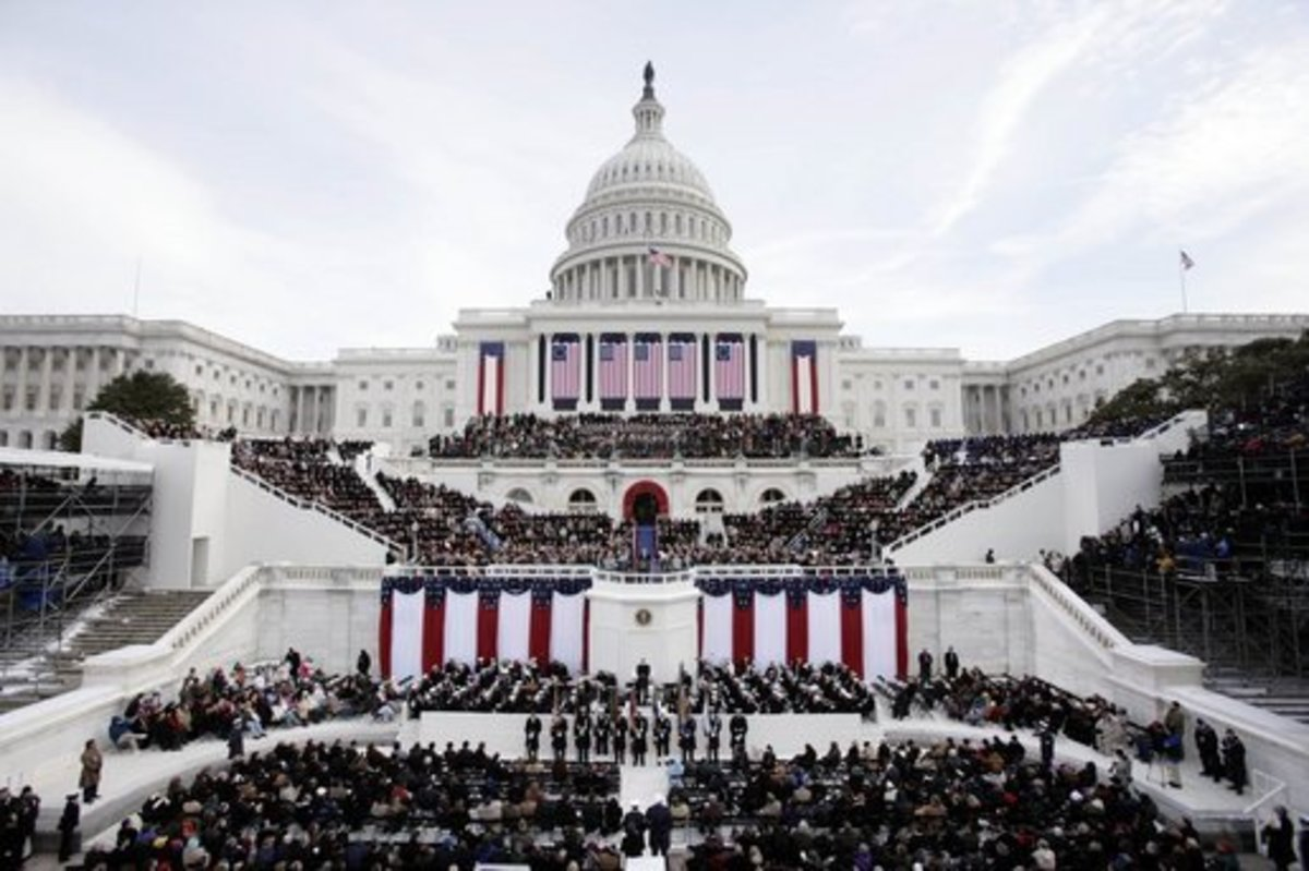 This inauguration highlights an avoidable rift that has formed in our country between opposing political parties. Photo courtesy Wikimedia commons.