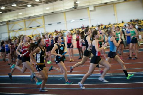 Indoor track team sprints their way through counties and regionals