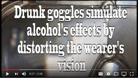 Video: Drunk goggles test