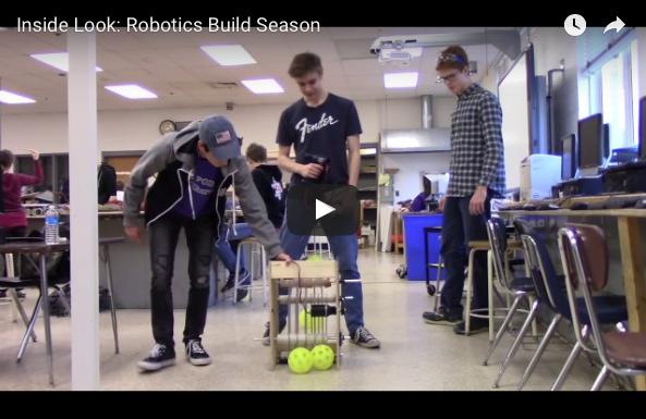 Inside Look: Robotics Build Season