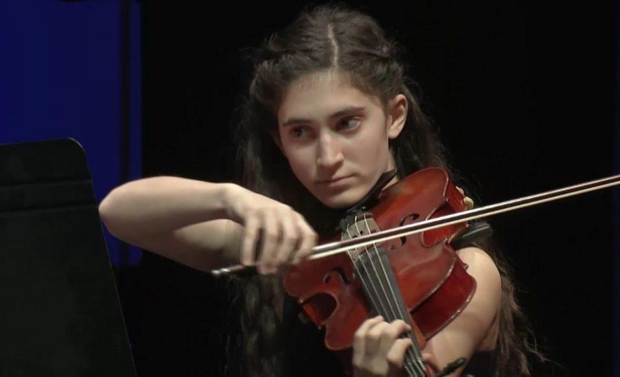 Freshman plays viola in National Symphony Orchestra program