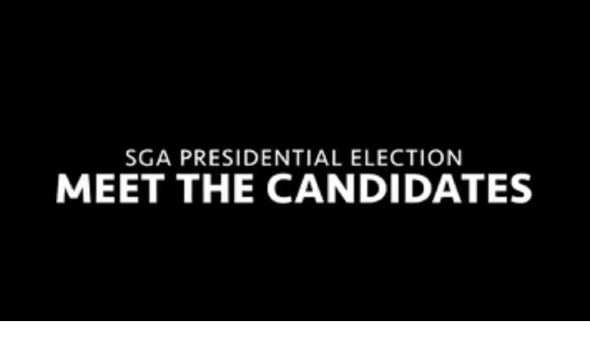 SGA Election: meet the candidates