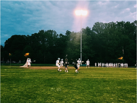 Boys lacrosse eliminates Richard Montgomery in first playoff game