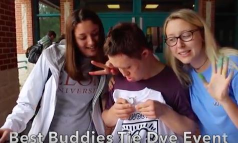 Best Buddies hosts tie dye event