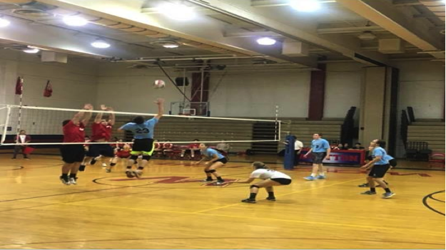 The+coed+volleyball+team+failed+to+overcome+Wootton%27s+stingy+defense+in+Tuesday%27s+second+round+matchup.+Photo+by+Matthew+van+Bastelaer.