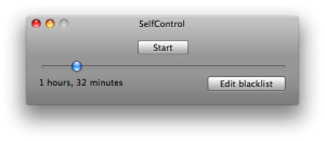 SelfControl, for those who have none