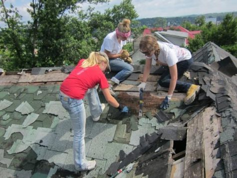 A week in Pulaski helps the town recover from a tornado
