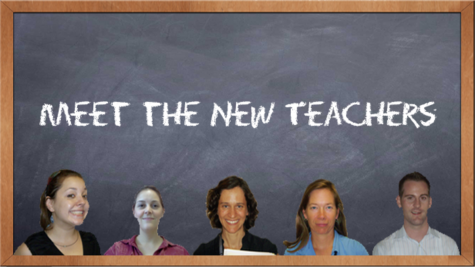 Multimedia: Meet the new teachers