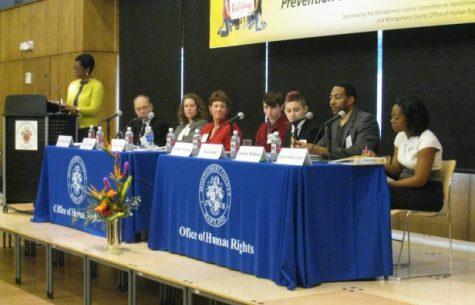 Senior speaks at bullying symposium