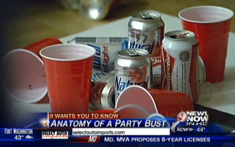 WUSA9 News airs party footage in underage drinking series