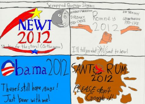 CARTOON: Scrapped campaign slogans 2012