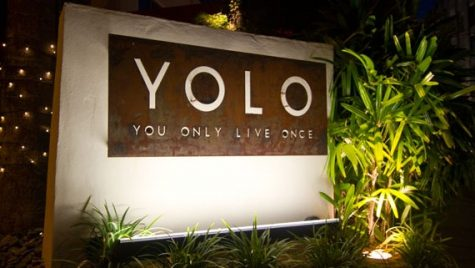 Just remember 'YOLO'