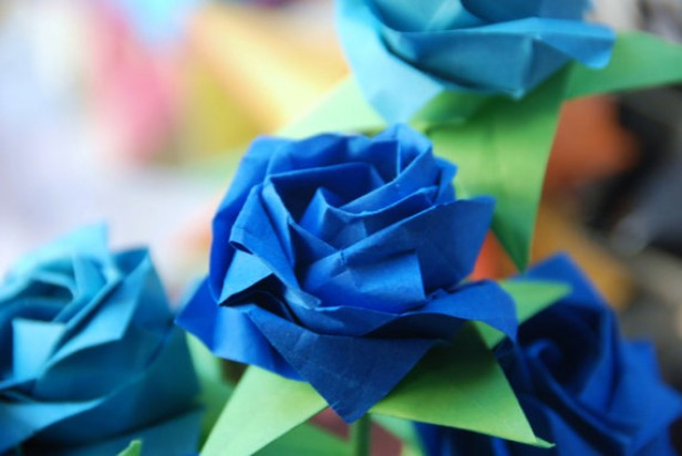 Sophomores Origami Creations Benefit Children With Rare Diseases