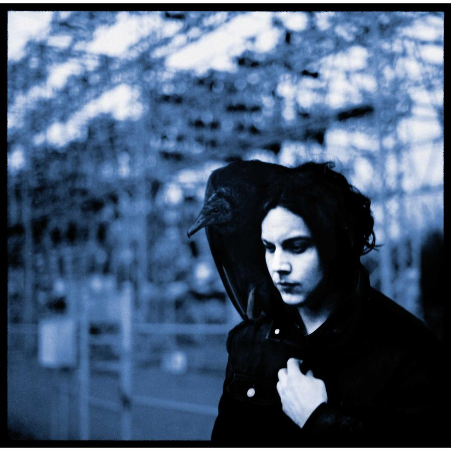 Jack Whites new album, Blunderbuss, with album cover pictured above, features a strong solo sound from the rock  Photo courtesy www.static.musictoday.com.
