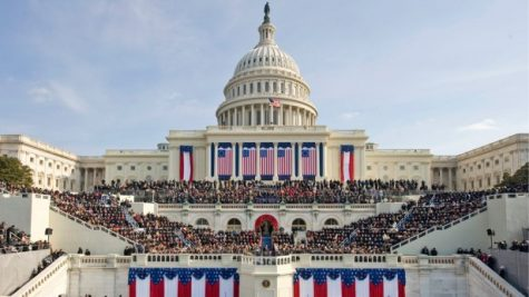 About 1.8 million people attended the 2009 inauguration. This year's swearing-in ceremony will take place Monday, Jan. 21. Photo courtesy neh.gov.