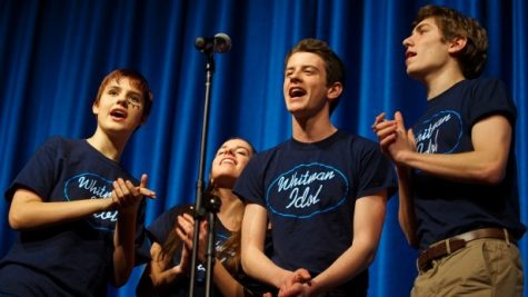 Junior Katherine Paterson sings her way to a Whitman Idol win