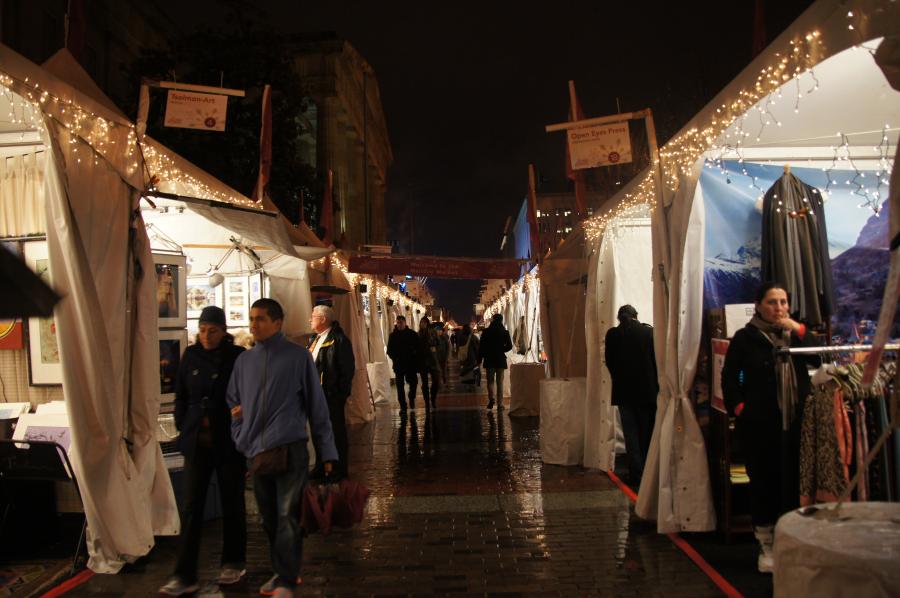 Downtown Holiday Market festive, fun winter destination