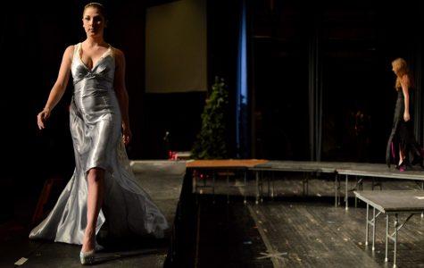 Fashion show dazzles with Aurora Borealis-theme