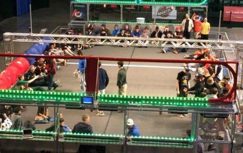 Robotics tournament exciting despite loss