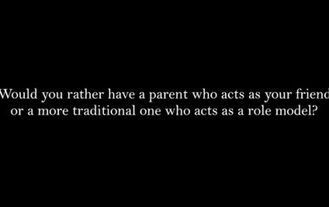 Would you rather have your parents be your parents or your friends?