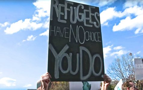 DC protests to welcome refugees