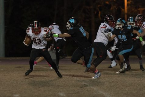 October 28: Football falls to explosive QO offense; hockey loses first game