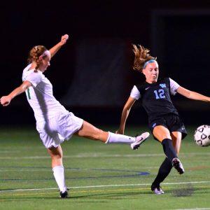 Girls soccer edges out WJ 1–0