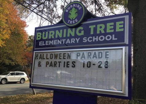 Spray-painted swastikas at Burning Tree Elementary investigated as hate crime