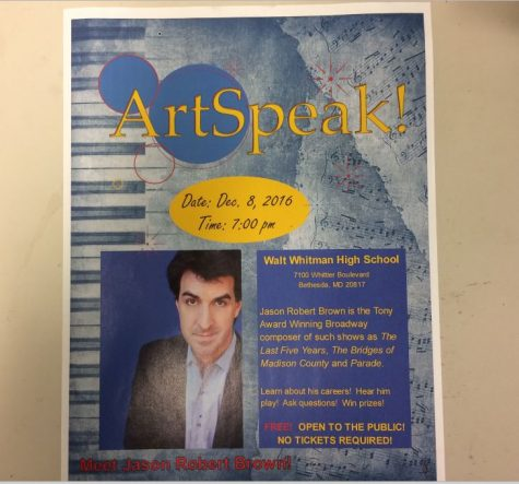 ArtSpeak! to bring Tony Award-winning composer to Whitman