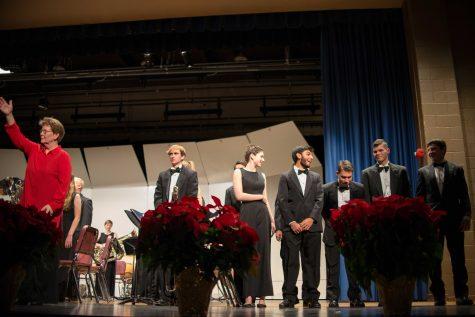 Wind Ensemble premieres original piece at Winter concert