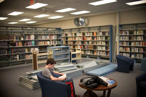 Library closed for a week: renovations begin