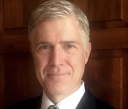 Supreme Court nominee Neil Gorsuch is the second recent Supreme Court nominee with ties to Montgomery County. Photo courtesy 10th U.S. Circuit Court of Appeals.