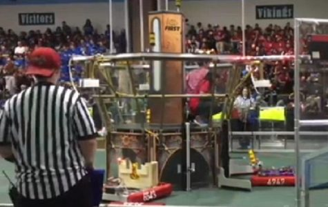 Robotics secures second place finish at host tournament