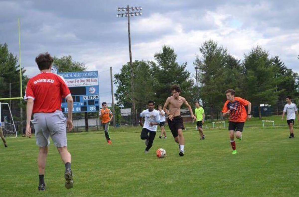 International club hosts third annual soccer tournament