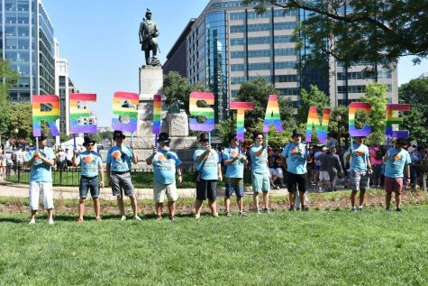 Students show pride, attend LGBTQ+ parade and march